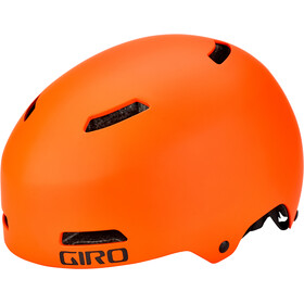 Giro Quarter FS Casco, matte vermillion/flame